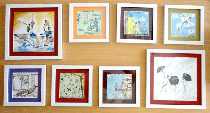 #framed #doodle #original #art #illustration #indian #artist