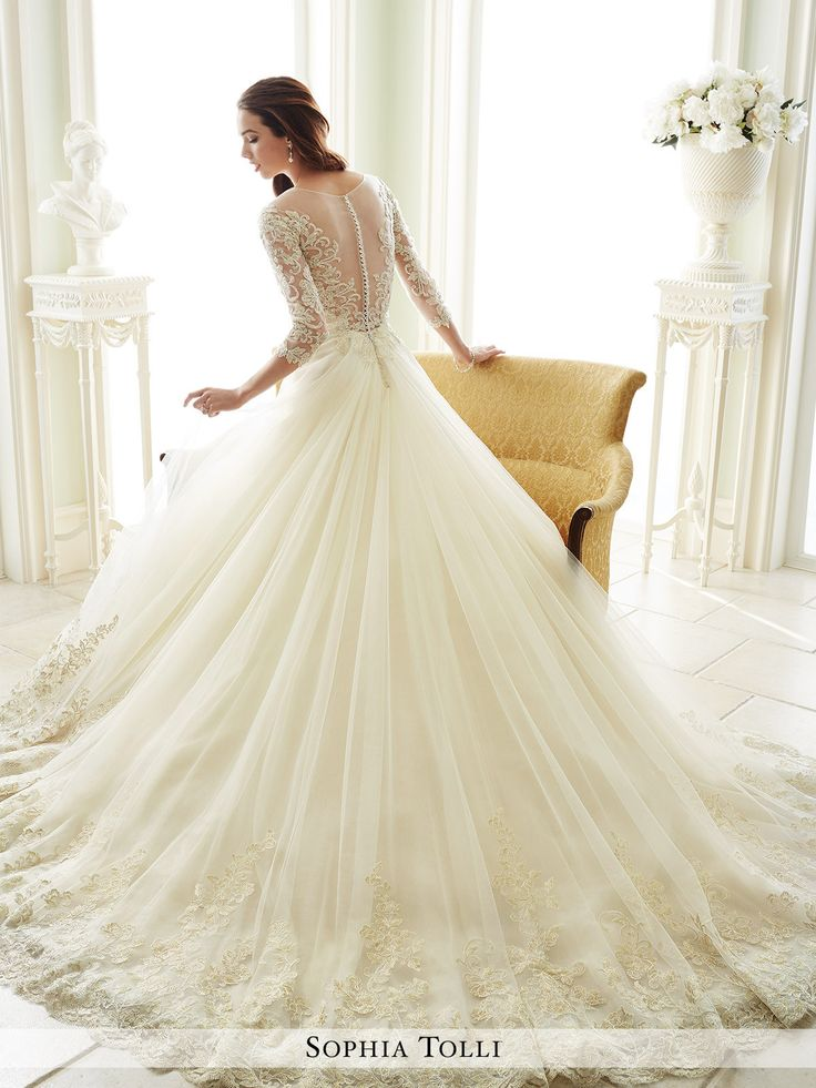 Sophia Tolli - Andria - Y21666 - All Dressed Up, Bridal Gown - Mon Cheri - Chattanooga TN's All Dressed Up Bridal Shop / Bridal Boutique offers Wedding Gowns, Prom Dresses & Tuxedo Rentals