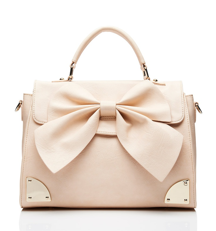 AHHH! I want this like it's my job! Rachel Bow Day Bag - Forever New