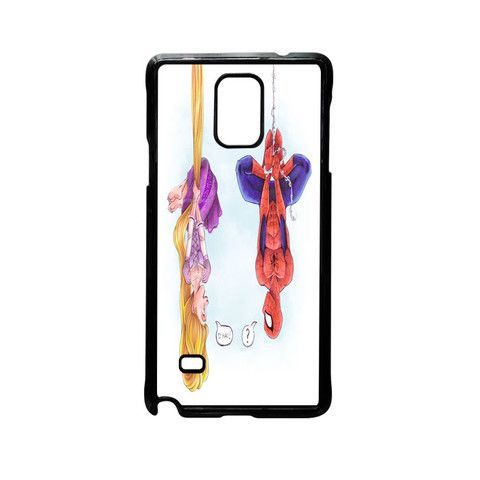 disney tangled and spiderman for Samsung Galaxy and HTC Case