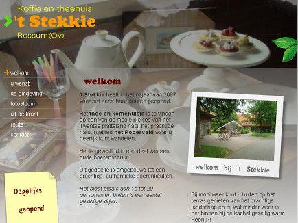 welkom - 't Stekkie