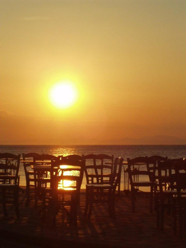 Sunset at Milina