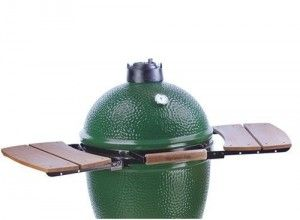 8. Big Green Egg Medium Mate Charcoal Grill