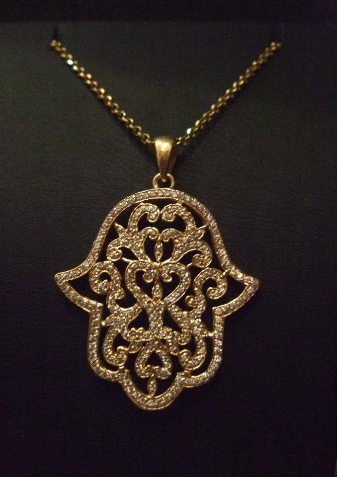The arabs , christians and Jews meet in this amulet.