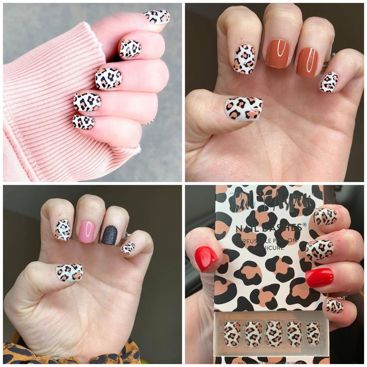Red Aspen nail dashes are perfect to put on in a dash. Pop ...