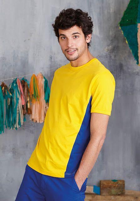 Sertext Camisetas Publicitarias Personalizadas: CAMISETA BICOLOR TIGER