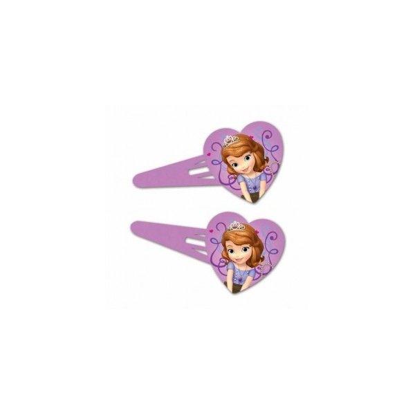 mollette per capelli della principessa sofia http://www.lefestediemma.com/shop/it/festa-principessa-sofia/494-sofia-la-principessa-4-mollette-per-capelli-0013051469016.html