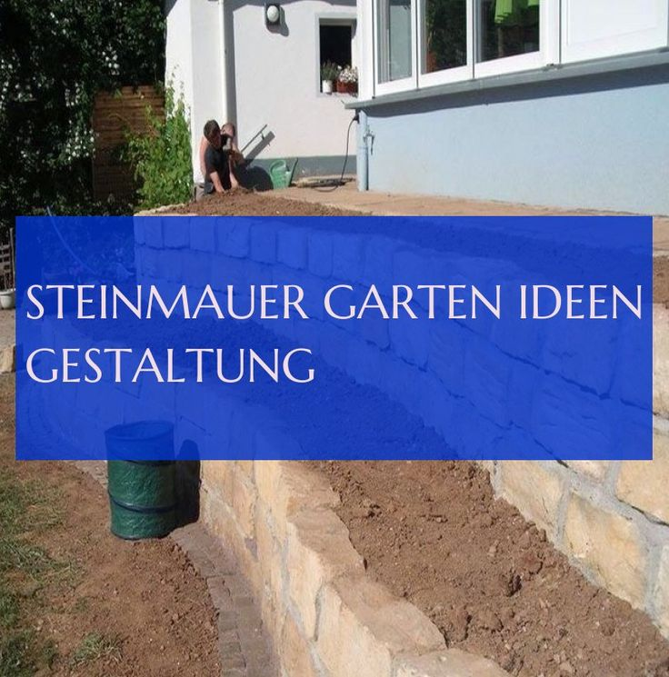 steinmauer garten ideen gestaltung & #Steinmauer #garten #Ideen #gestaltung 10.0 …