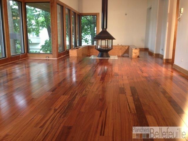 plancher bois franc exotique tigerwood naturel tigerwood planchersboisfranc. Black Bedroom Furniture Sets. Home Design Ideas
