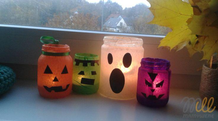 #lampion na #halloween   #tutorial #DIY #eco #upcycling #repurpose #recycling…