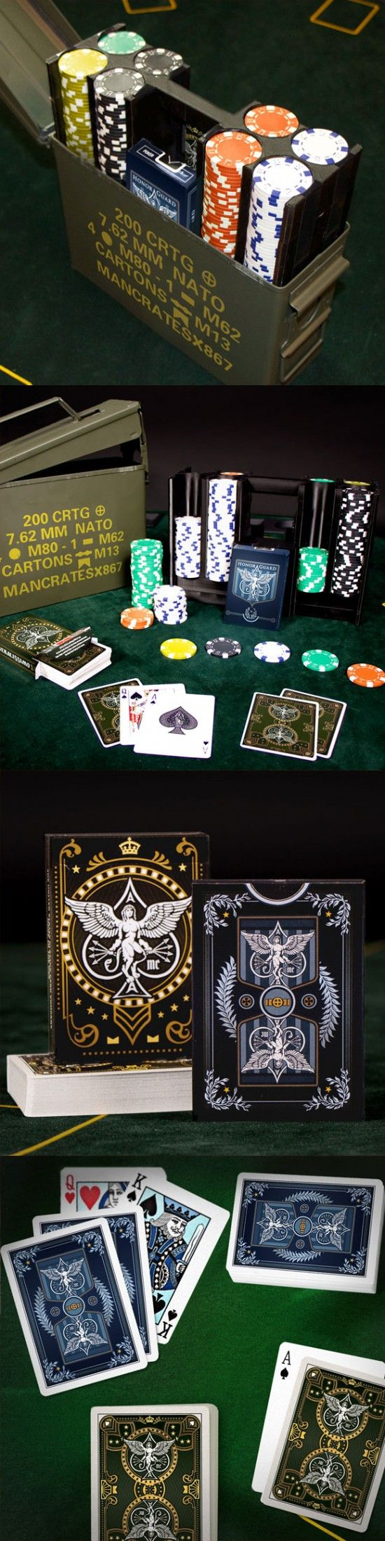 Ammo Can Poker Set. Great gift for Father's Day | ManCrates