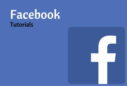 Facebook Tutorials