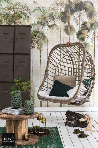 Hangstoel Rotan Buiten.J Line Hangstoel Rotan Naturel 2 Persoons 120 X 82 X 124 In 2019