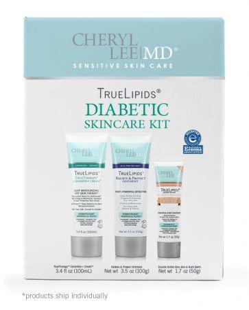 Diabetic Skincare Kit - Cheryl Lee MD Sensitive Skin Care