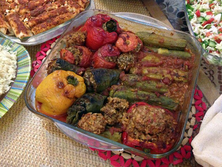 Sudanese Mahshi Stuffed Vegetables)