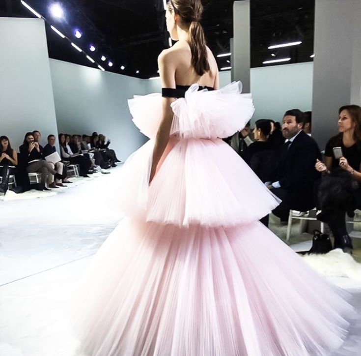 by Victoria Berezhna -- Runway: Giambattista Valli Spring 2016 Couture, Paris