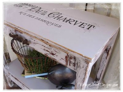 11 DIY Painted Office Furniture Projects - Page 3 of 11 - The Graphics Fairy