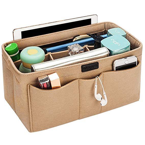 Felt Insert Bag Organizer Bag In Bag Ropch Purse Organizer Insert Handbag  Purse Organizer fits LV Speedy LV Nev… | Handbag organization, Purse  organization, Handbag