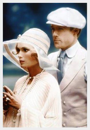 Robert Redford as Gatsby | Mia Farrow as Daisy Buchanan ( 1974 )