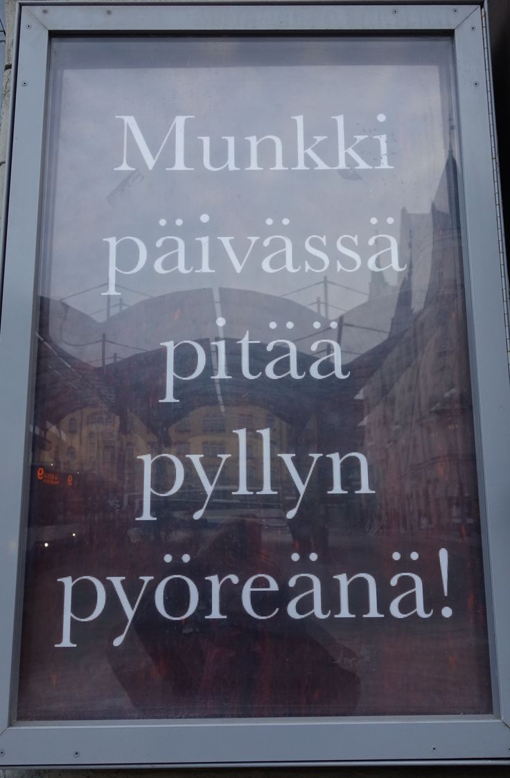 Munkkikahvila Tampereen keskustorilla :)