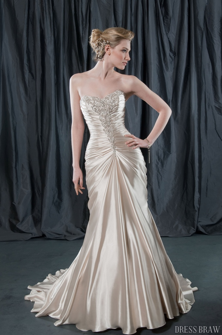 Old hollywood glam style dress potentially perfect for Hollywood glam wedding dress