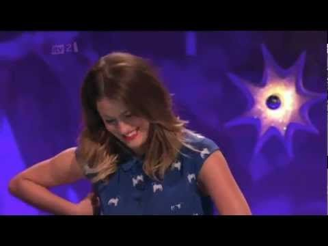 Caroline Flack talks about Harry Styles on Celebrity Juice. This video is soooooo funny I literally died of laughter!