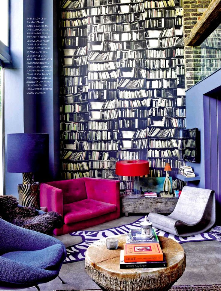 Eclectic Style Living Room From Ad Spain