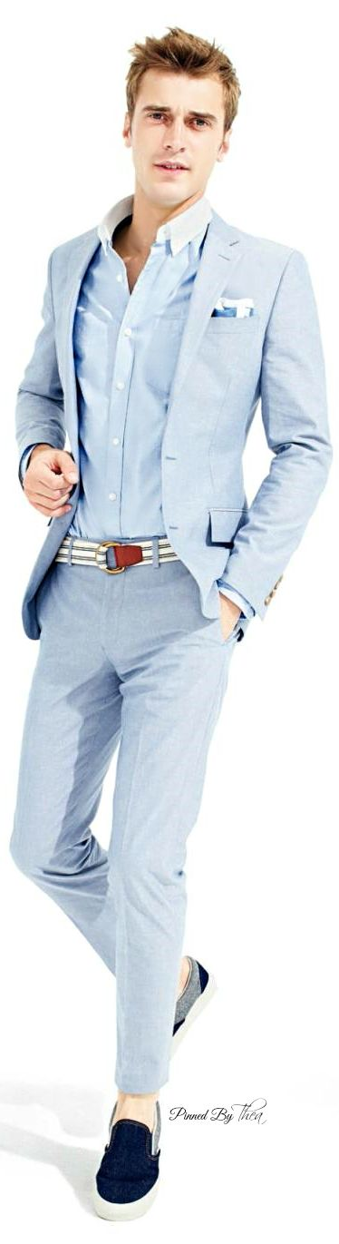 J Crew 2015 | Men's Fashion | Menswear | Men's Outfit for Casual Weddings | Spring/Summer Style | Moda Masculina | Shop at designerclothingfans.com