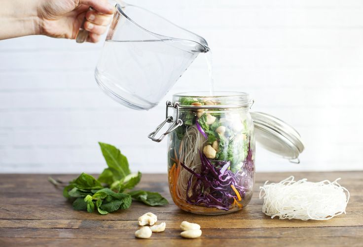 A tester, recette Prana Soupe instantanée maison au miso et cajou rôties à emporter