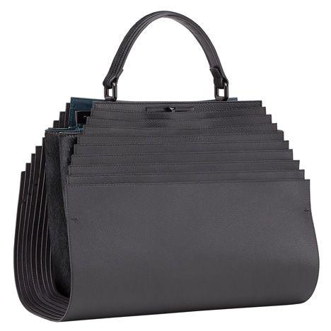 Architect Zaha Hadid has designed a leather bag for fashion house Fendi