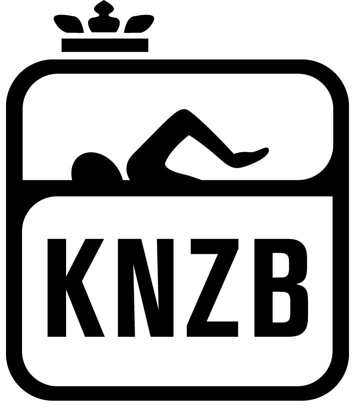 Teken van de knzb koningkluke nederlanse w-zwem bond