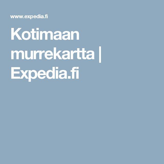 Kotimaan murrekartta | Expedia.fi