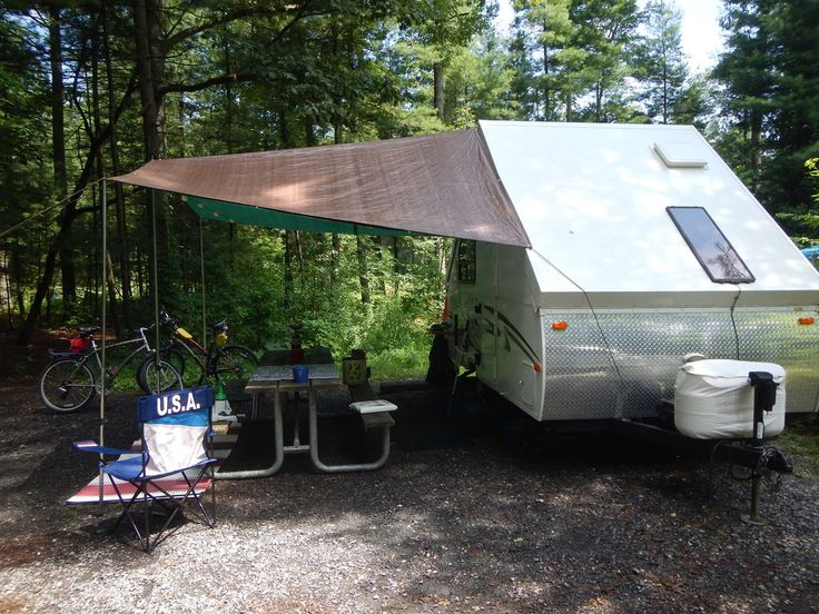 Any Tarp As Awninng For Any A Frame A Frame Camper