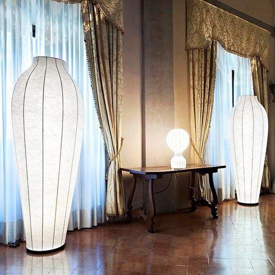Chrysalis: Discover the Flos standard lamp model Chrysalis