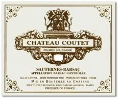 First Growth Barsac wine owned by the Baly family including the intrepid tweeter about all things Sauternes, Aline Baly - see @ChateauCoutet