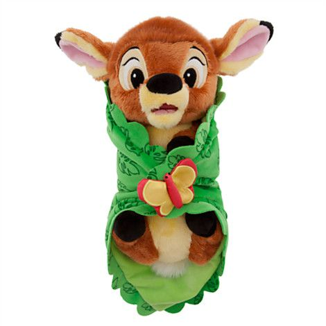 Disney S Babies Bambi Plush Doll And Blanket Small 10