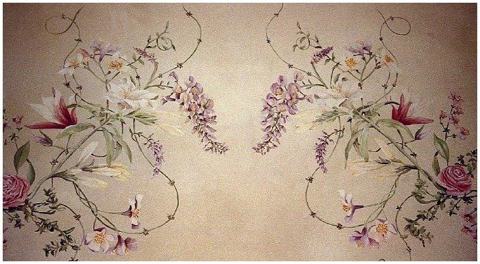 26 best floral murals images on pinterest for Cypress gardens mural