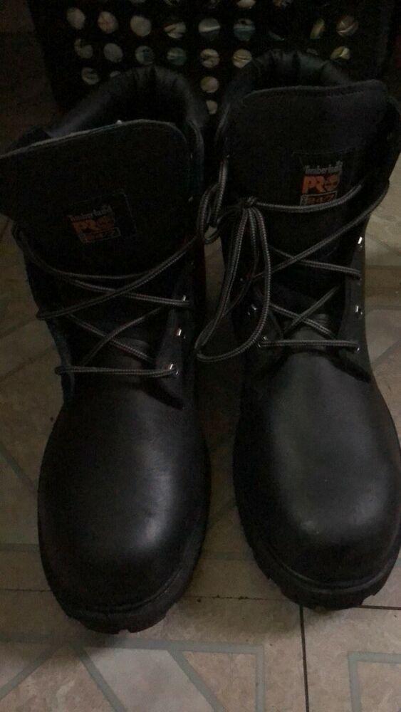 Mens timberland pro thermos light 200g black boots #fashion
