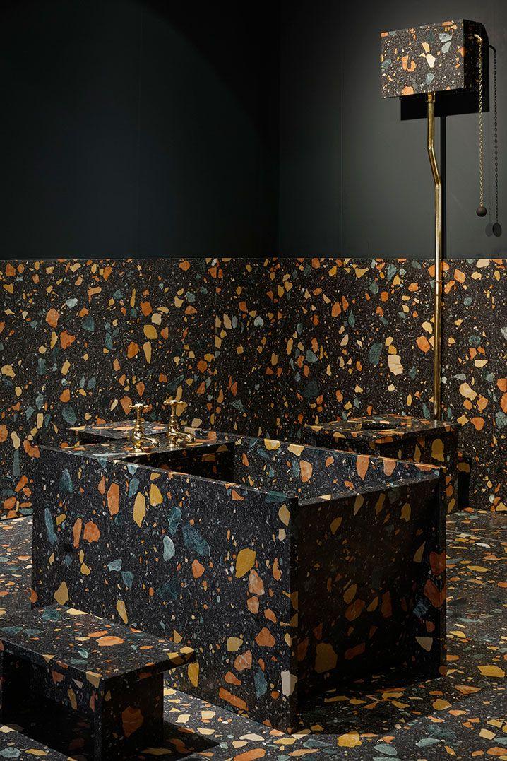 Marmoreal Bathroom Furniture by Max Lamb