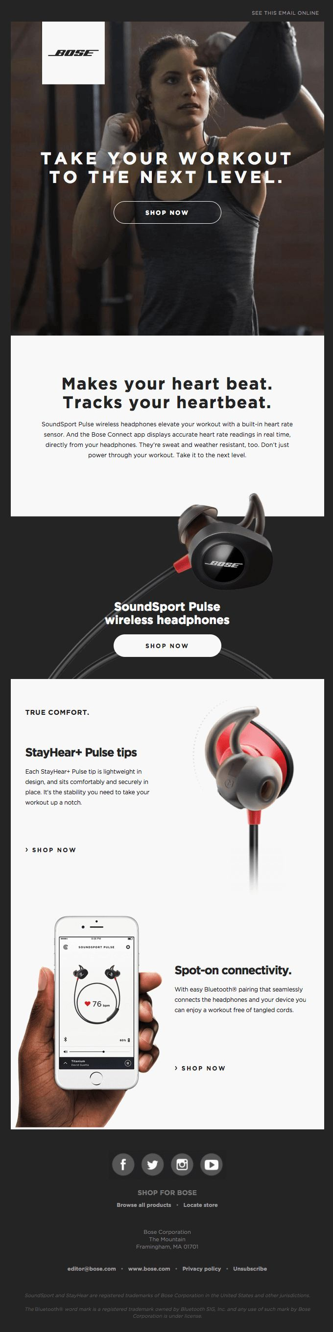 Your Best Workout Starts Now | SoundSport Pulse - Really Good Emails