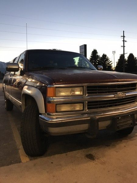 25+ best ideas about Chevrolet 2500 on Pinterest   Gmc 2500, Lifted chevy trucks and Big chevy ...