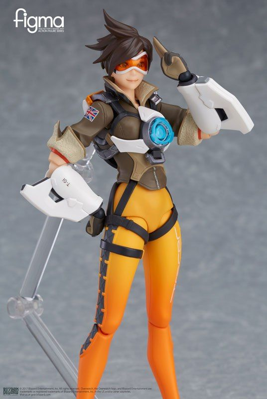 Good smile company Figma Overwatch: Tracer PVC Figure