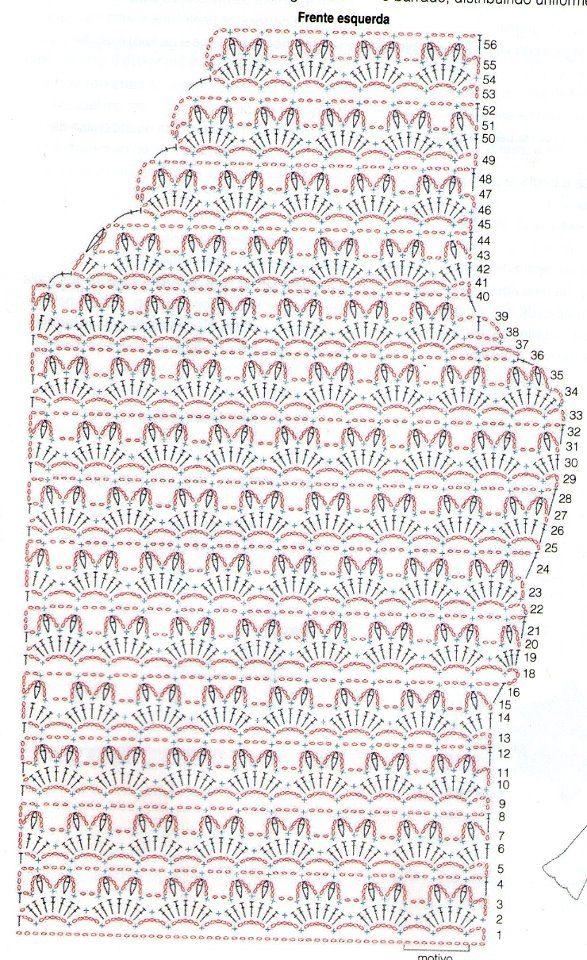Stitch crochet dress