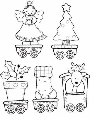 Christmas Train, part 2