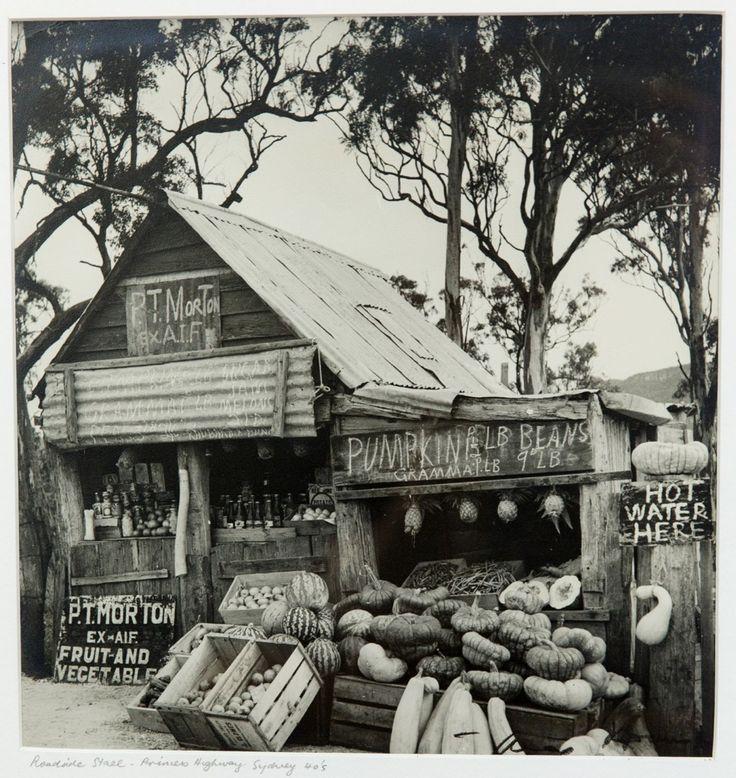Max Dupain (1911-1992), Roadside Stall Princes Highway
