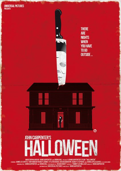 Great Horror Movie Poster Art - Halloween, Carrie, and More