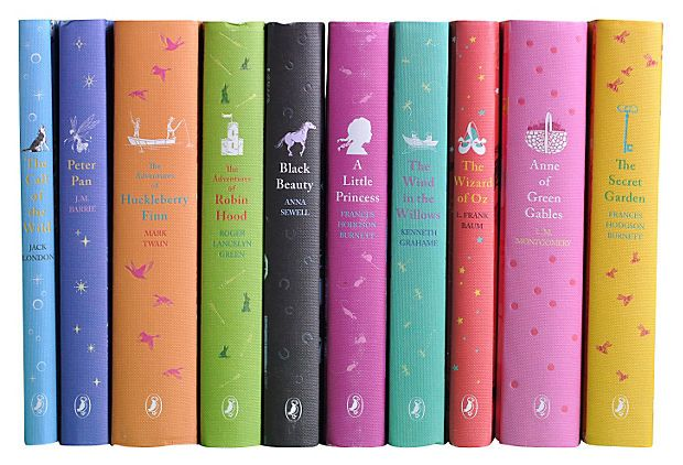 S/10 Puffin Classics Young Readers Books
