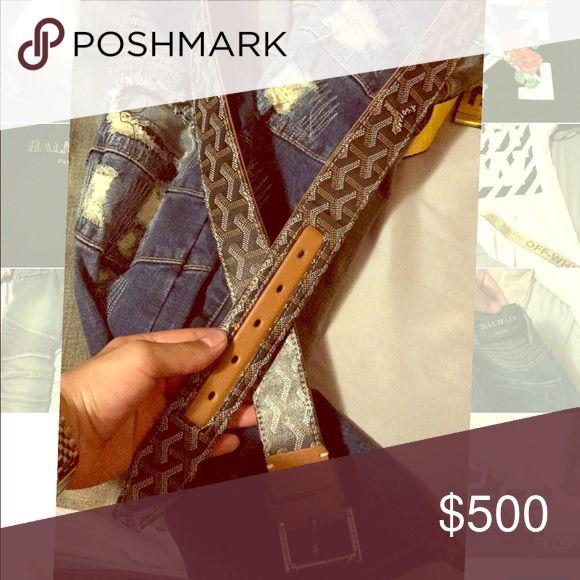 GOYARD BELT Size 36 Goyard Accessories Belts