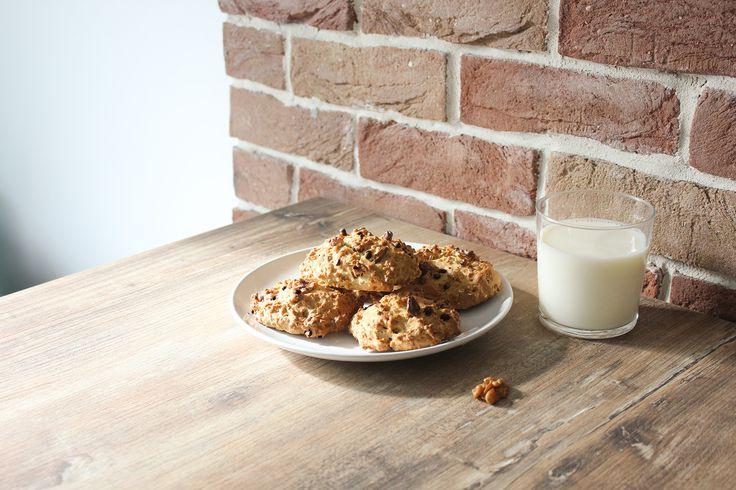 Cookies aux noix et flocons d'avoine
