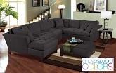 The Metropolis Grey Collection...furniture.com